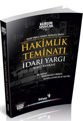 İdari Yargı Hakimlik Teminatı Çözümlü Soru Bankası İhtiyaç Yayınları