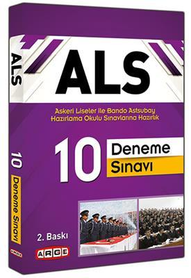 Arge Yayınları ALS Askeri Liseler ile Bando Astsubay Okulu Sınavlarına Hazırlık 10 Deneme Sınavı
