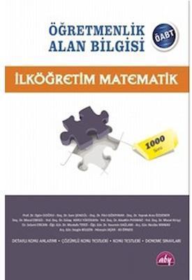 KPSS ÖABT İlköğretim Matematik Konu Anlatımlı Alan Bilgisi Yayınları