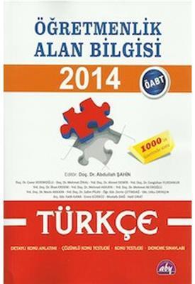 Öğretmenlik Alan Bilgisi Türkçe Konu Anlatımlı Alan Bilgisi Yayınları