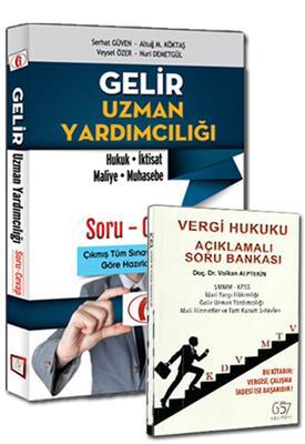 Gelir Uzman Yardımcılığı ve Vergi Hukuku Açıklamalı Soru Bankası 657 Yayınları 2 Kitap