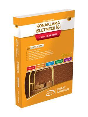 Murat Açıköğretim Yayınları 5231 Konaklama İşletmeciliği 2.Sınıf 3.Yarıyıl