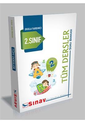 2. Sınıf Tüm Dersler Soru Bankası Sınav Dergisi Yayınları