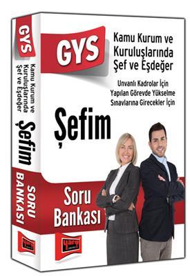 GYS Şefim Soru Bankası Yargı Yayınları