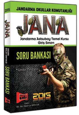 2015 JANA Jandarma Astsubay Temel Kursu Giriş Sınavı Soru Bankası Yargı Yayınları