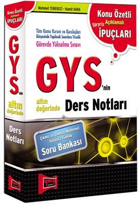GYS`nin Altın Değerinde Ders Notları Yargı Yayınları