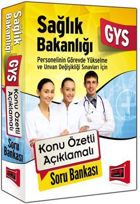GYS Sağlık Bakanlığı Konu Özetli Açıklamalı Soru Bankası Yargı Yayınları
