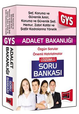 2015 GYS Adalet Bakanlığı Şef, Koruma ve Güvenlik Amiri İçin Çözümlü Soru Bankası Yargı Yayınları