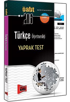 Yargı Yayınları 2016 ÖABT Türkçe  Yaprak Test