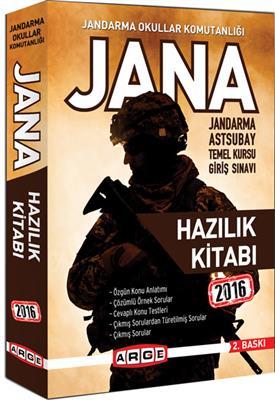 Arge Yayınları 2016 JANA ASTSUBAY Hazırlık Kitabı