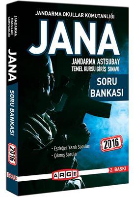 Arge Yayınları 2016 JANA Soru Bankası