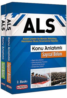 Arge Yayın ALS Askeri Liseler ile Bando Astsubay  Okulu Sınavlarına Hazırlık Konu Anlatımlı Set