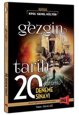 Yargı Yayınları 2016 KPSS GEZGİN Tarih Çözümlü 20 Deneme Sınavı