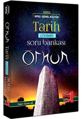 ORHUN Tarih Çözümlü Soru Bankası  2016 KPSS Yargı Yayınları