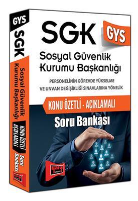 Yargı Yayınları Sosyal Güvenlik Kurumu  Konu Özetli Açıklamalı Soru Bankası