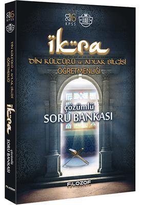 ÖABT Din Kültürü ve Ahlak Bilgisi  İKRA Tamamı Çözümlü Soru Bankası 2016  Filozof Yayıncılık
