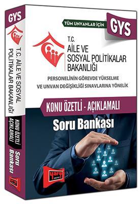 GYS Aile ve Sosyal Politikalar Açıklamalı Soru Bankası Yargı Yayınları