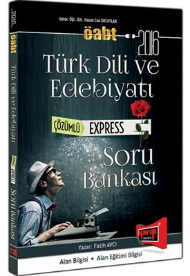 ÖABT Türk Dili ve Edebiyatı Express Çözümlü Soru Bankası 2016 Yargı Yayınları