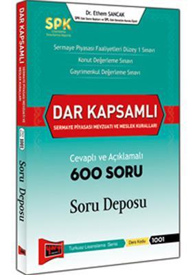 SPK Dar Kapsamlı S. P. Mevzuatı Cevaplı ve Açıklamalı 600 Soru Deposu Yargı Yayınları