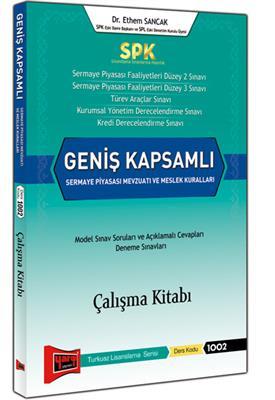 SPK Geniş Kapsamlı Sermaye Piyasası Mevzuatı ve Meslek Kuralları Çalışma Kitabı Yargı Yayınları