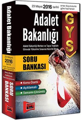 2015 GYS Adalet Bakanlığı Tamamı Çözümlü Açıklamalı Soru Bankası Yargı Yayınları