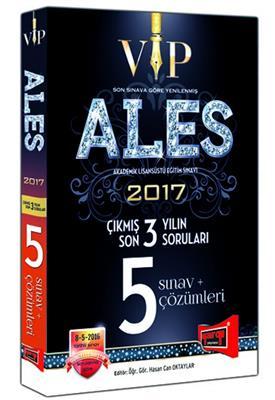 YARGI ALES VIP Son 3 Yılın Çıkmış 5 Sınav Soruları ve Çözümleri 2017