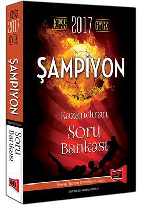 2017 KPSS GK GY ŞAMPİYON  Soru Bankası Yargı Yayınları