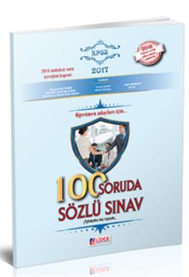 Öğretmen Adayları İçin 100 Soruda Sözlü Sınav Lider Yayınları