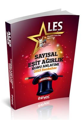 2015 ALES Sayısal  Eşit Ağırlık Konu Anlatımı - Sonbahar İhtiyaç Yayınları