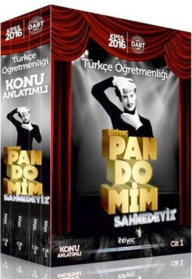 2016 ÖABT PANDOMİM Türkçe Öğretmenliği Konu Anlatımlı Modüler Set İhtiyaç Yayınları