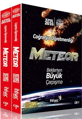İhtiyaç Yayınları 2016 ÖABT Coğrafya METEOR Konu Anlatımlı Modüler Set