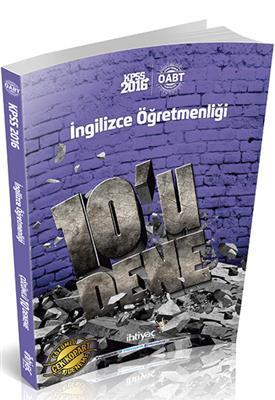 2016 ÖABT İngilizce  Deneme İhtiyaç Yayınları