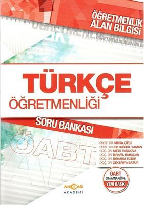 Akçağ ÖABT 2016 Türkçe Öğretmenliği Soru Bankası