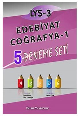 LYS-3 Edebiyat Coğrafya-1 5 Deneme Seti Palme Yayınları