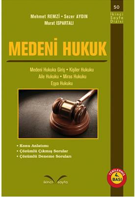 Medeni Hukuk (Yenilenmiş 4.Bası) İkinci Sayfa Yayınları