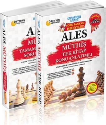 Akıllı Adam ALES Müthiş Tek Kitap Konu Soru Bankası