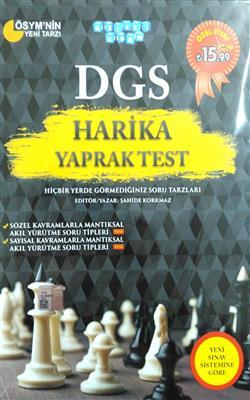 DGS Harika Yaprak Test Akıllı Adam Yayınları