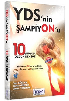 YDS ŞAMPİYONU 10 ÖZGÜN DENEME irem Yayınları