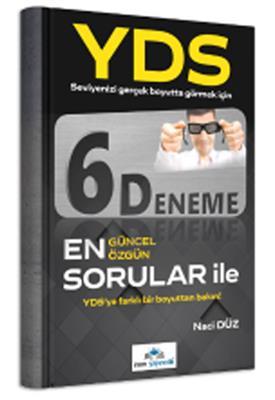 YDS 6 Deneme En Güncel Sorular ile İrem Yayınları