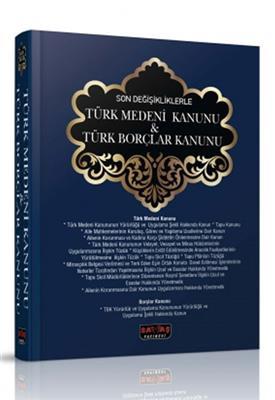 2014 Türk Medeni Kanunu ve Türk Borçlar Kanunu Savaş Yayınları