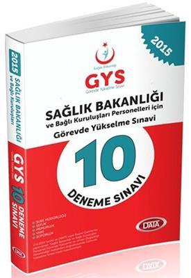 GYS Sağlık Bakanlığı 10 Deneme Sınavı Data Yayınları