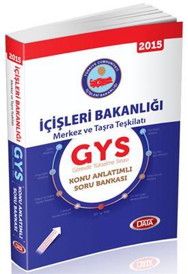 GYS İçişleri Bakanlığı Merkez ve Taşra Teşkilatı Konu Anlatımlı Soru Bankası Data Yayınları