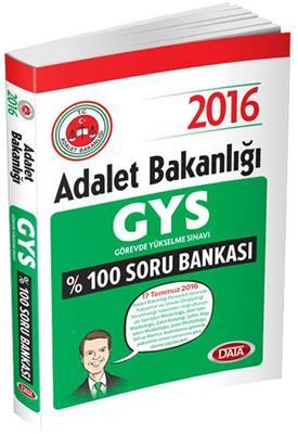 2015 Gys Adalet Bakanlığı Soru Bankası Data Yayınları