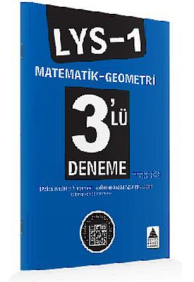 LYS-1 Matematik–Geometri 3'lü Deneme Delta Kültür Yayınları