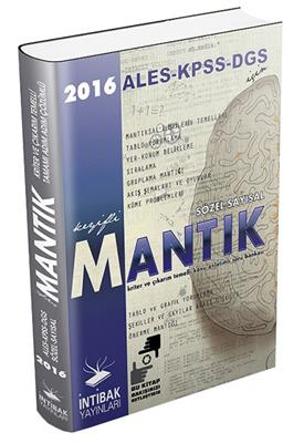 İntibak Yayınları KPSS ALES DGS İçin Sözel Sayısal Mantık Kitabı