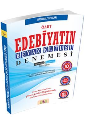 ÖABT Türk Edebiyatının Beyaz Kutusu  Çözümlü 10 Deneme Sınavı İnformal Yayınları