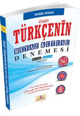 ÖABT Türkçenin Beyaz Kutusu Çözümlü 10 Deneme Sınavı 2016 İnformal Yayınları