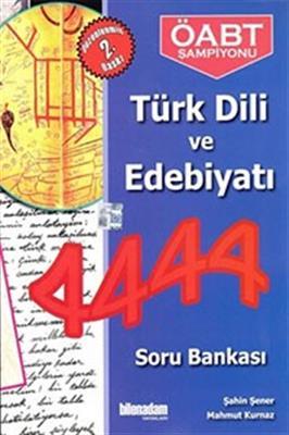 Bilen Adam Yayınları 2014KPSS ÖABT Türk Dili ve Edebiyatı 4444 Soru Bankası
