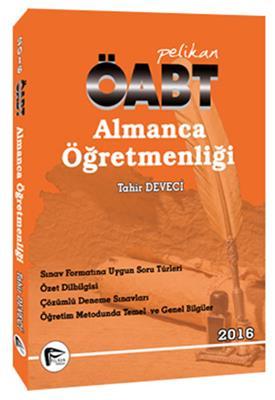 ÖABT Almanca  Konu Anlatımlı Pelikan Yayınları
