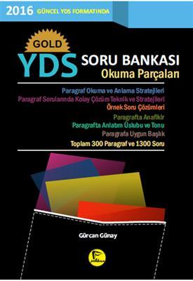 GOLD YDS Soru Bankası Okuma Parçaları Pelikan Yayınları